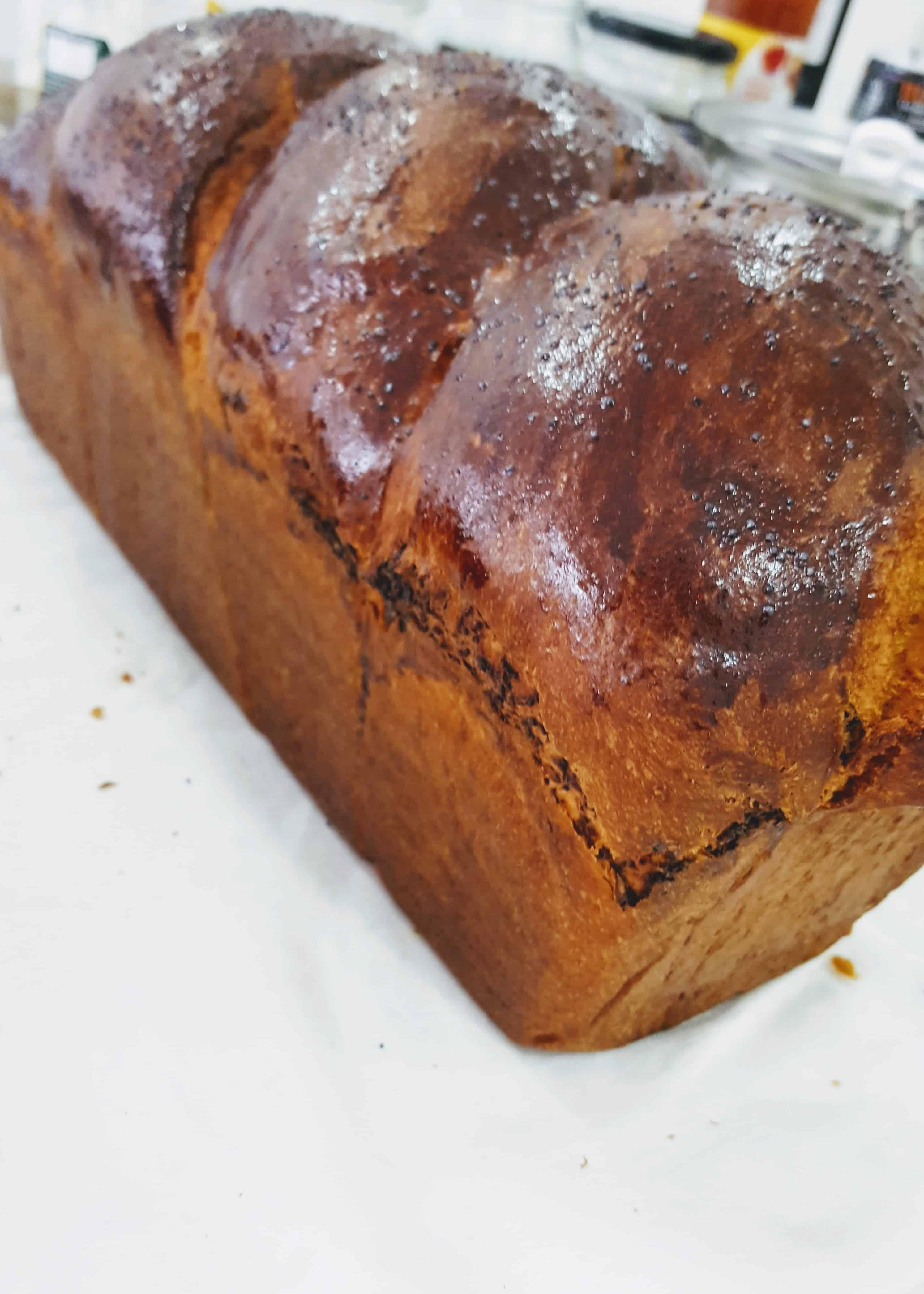 Cozonac de casa cu nuca - fara amelioratori/fara margarina - 1,6kg [4]